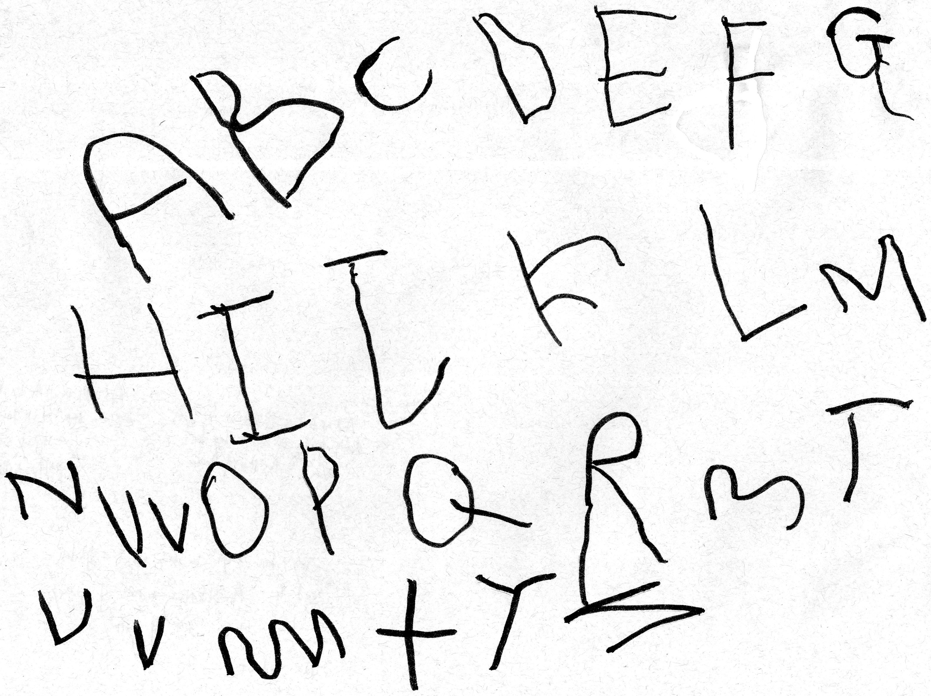 Joey's first alphabet  2011